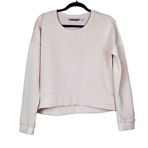 ATHLETA Blush Pink Modern Sweatshirt M Long Sleeve